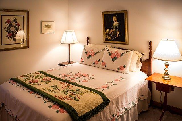couvre-lits vintage et l'entretien à réaliser
